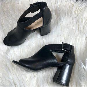 Nine West ''Gaceo' Peep Toe Block Heel